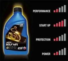 Aceites y lubricantes E 2T SELF MIX 1L - ELF 20W60 MOTO 4 TWIN TECH 4L